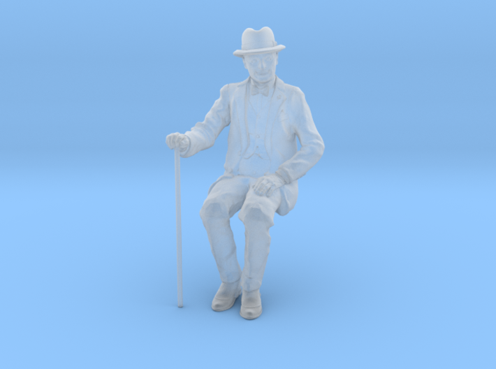 1:32 scale David sitting FUD 3d printed