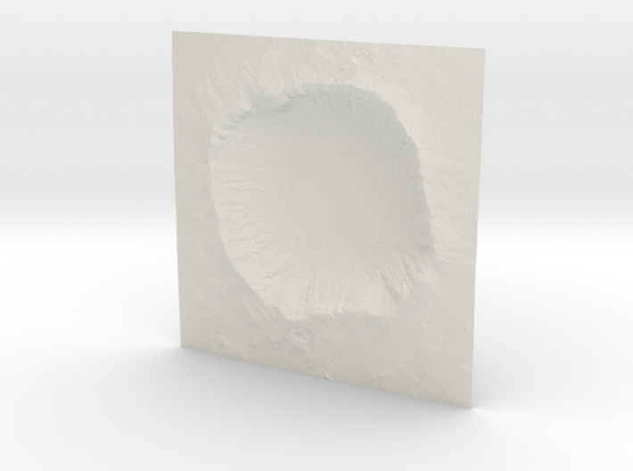 12'' Meteor Crater, Arizona, USA 3d printed