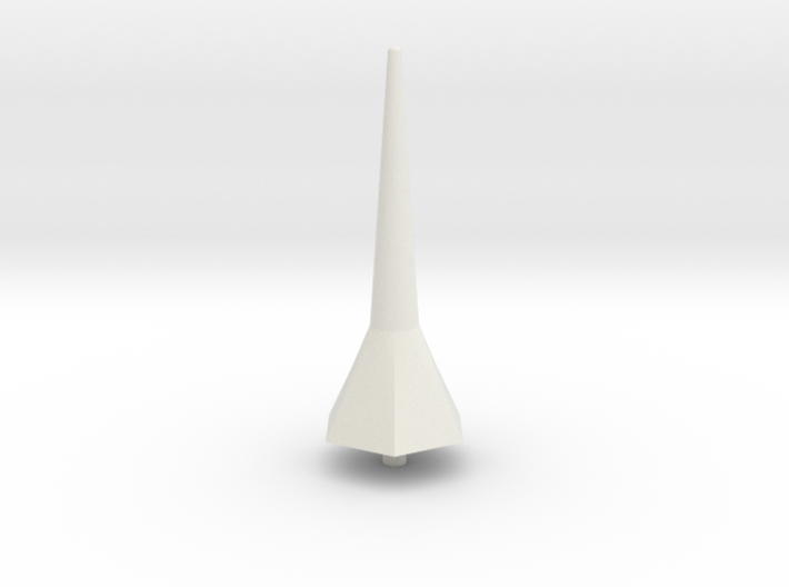 Hexa Tower Spike Scale Part 3d printed