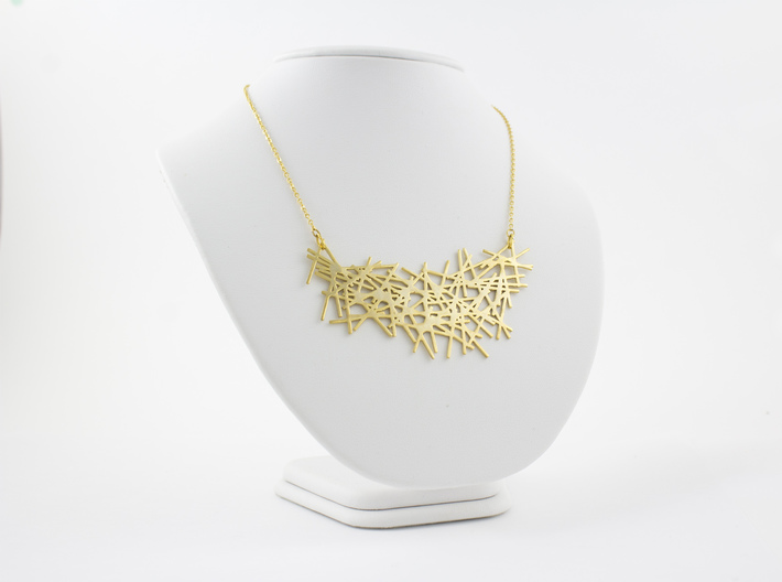 LINES NECKLACE 3d printed