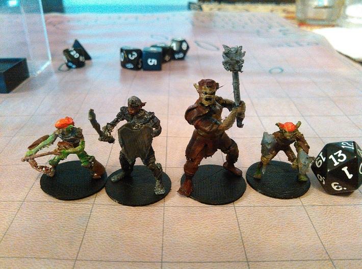 Goblin - Ranged 3d printed