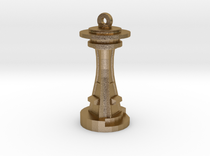 Space Needle [Pendant] 3d printed
