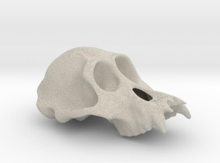 Orangutang ♂ cranium 3d printed