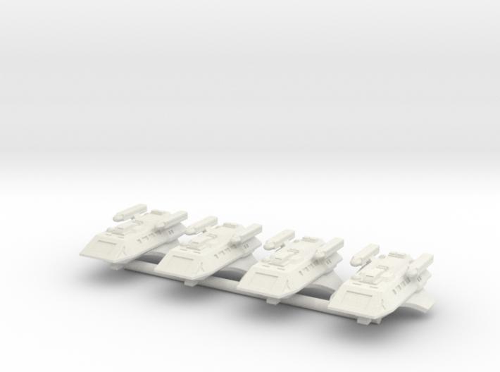 1/1000 Scale Scamper Volkov Type K-37 3d printed