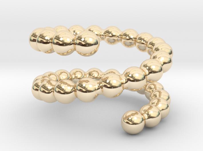Spiral ring 21 3d printed