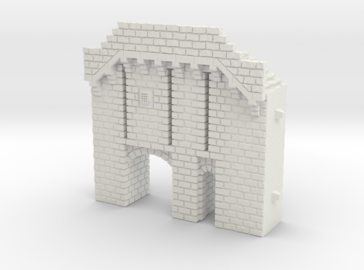 NF5 Modular fortified wall 3d printed