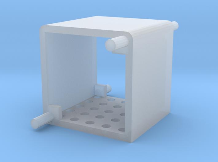 Raspberry Pi Heatsink Fan Mount 3d printed