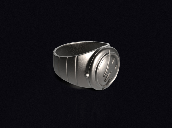 Barry Allen's Flash Ring 3d printed