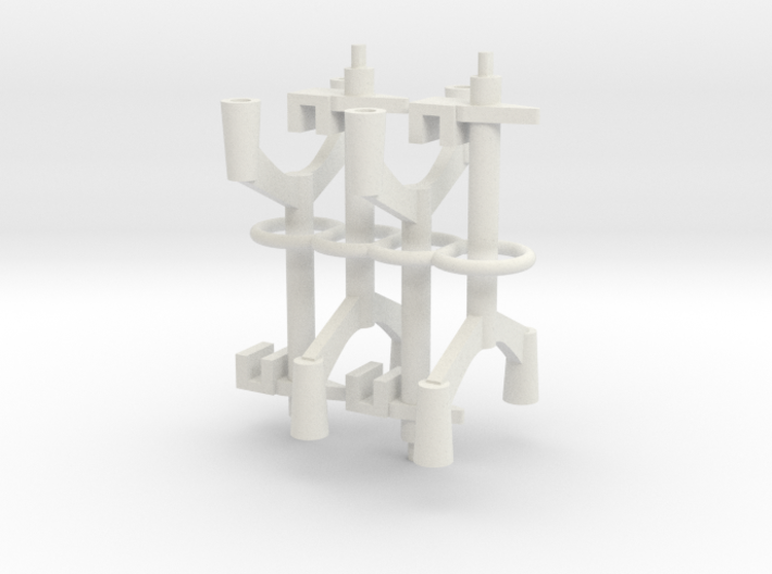 (Armada) 4x Squadron Pegs for 2 ships 3d printed