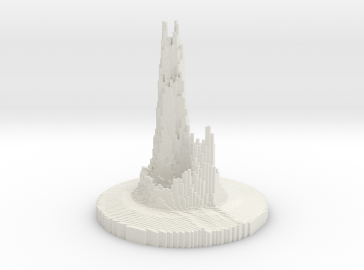 Abstract Castle 3d printed
