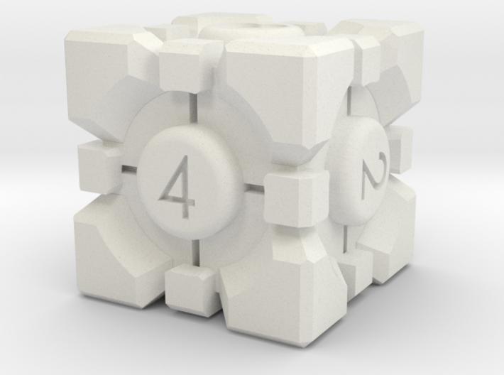Hefty Buddy Rombohedron Die 3d printed