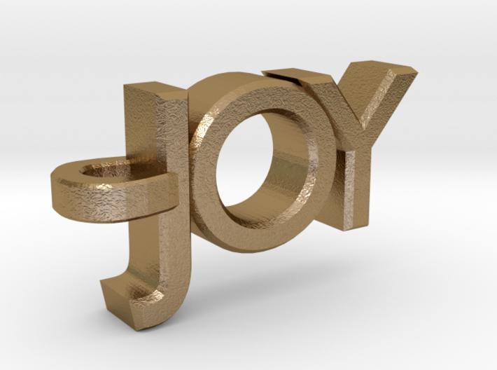Joy Pendant 3d printed