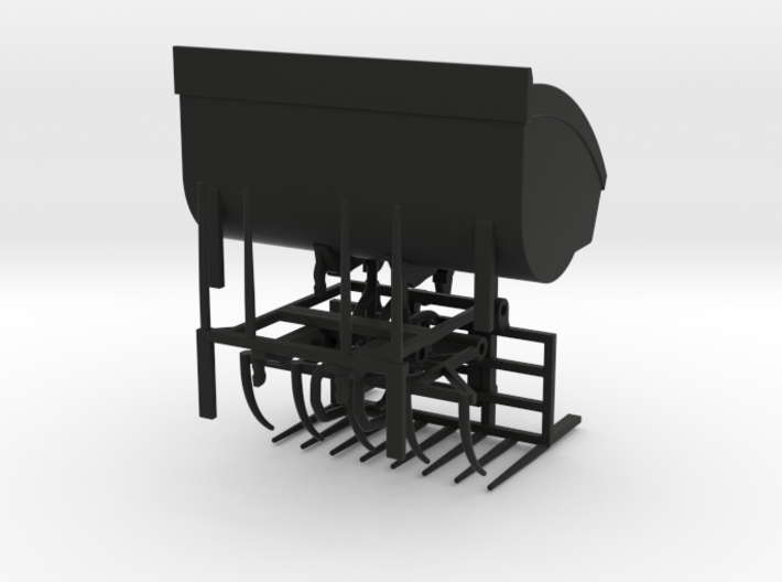 1/64 Wheel Loader Hay Attachments 3d printed