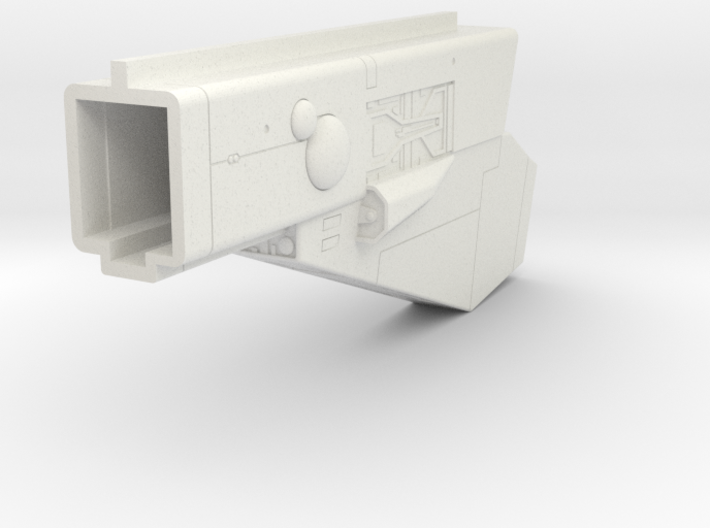 LoGH Imperial Carrier 1:3000 (Part 2/4) 3d printed