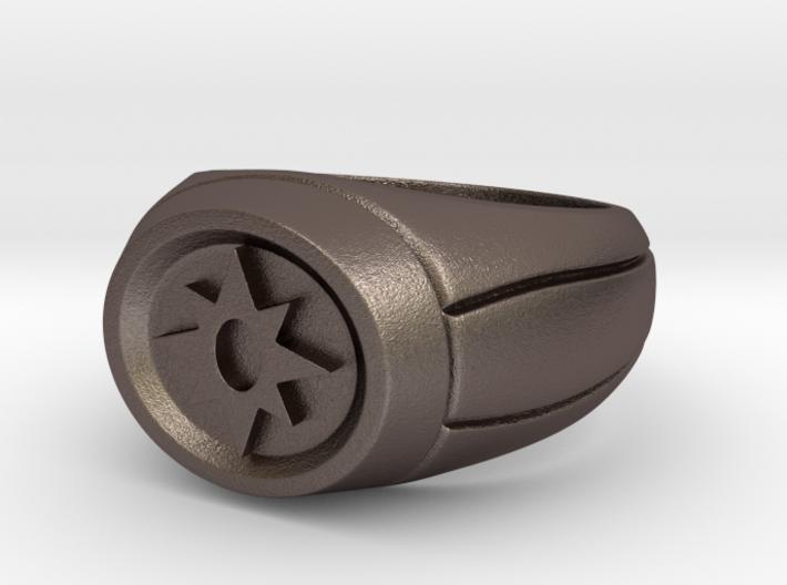 Violet Lantern Ring 3d printed