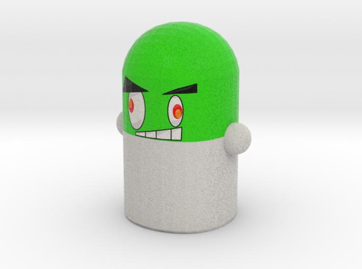 Green Pillock Mini 3d printed