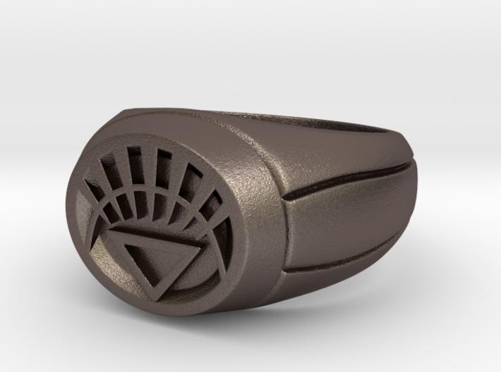 White Lantern Ring 3d printed