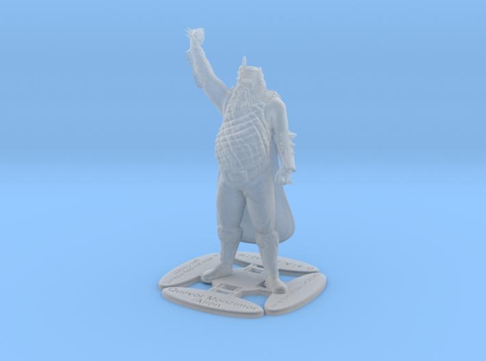 Quevor Monzimor 3d printed