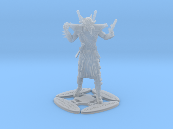 Scathe 3d printed