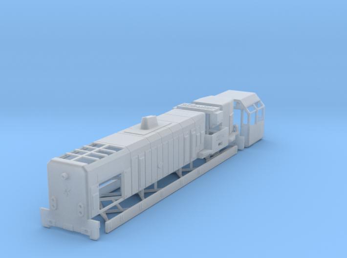 N NS 2900 diesellocomotief 3d printed