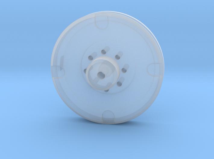 Mini Eye Plate 3d printed