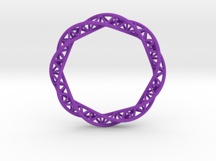 Triple Helix Bracelet (63 mm) 3d printed