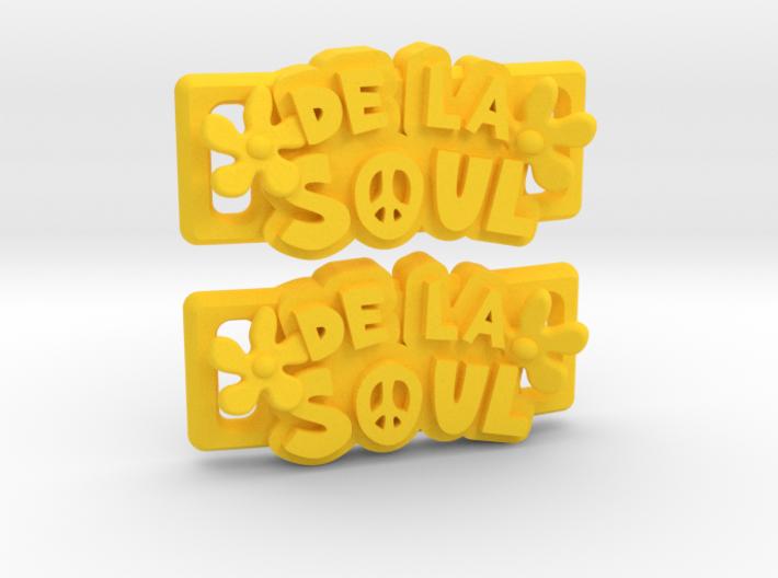 """""""De La Soul"""" Lacelocks (1 pair) 3d printed"""