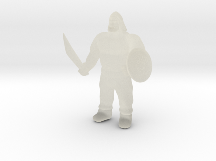 Ogre Warrior 3d printed