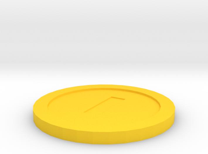 Mario Coin 3d printed