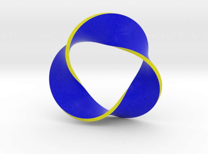 0158 Mobius strip (p=3, d=10cm) #006 3d printed