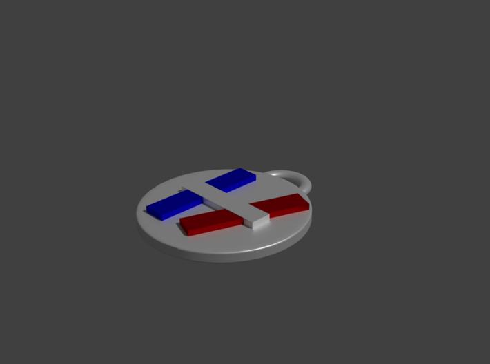 Twenty One Pilots - Logo Pendant - Standard 3d printed