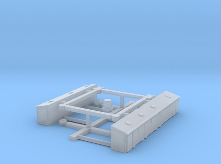 N mod kit NS Hippel - Bakkie - 500/600/700 3d printed