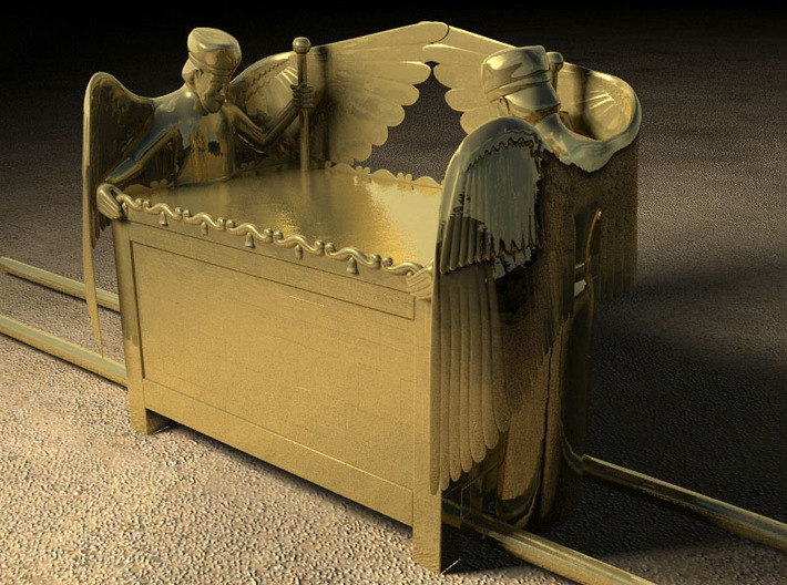 Mercy Seat for Ark of the Covenant 3d printed Computer rendition of 3D model