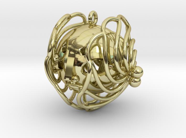 princess pendant 3d printed