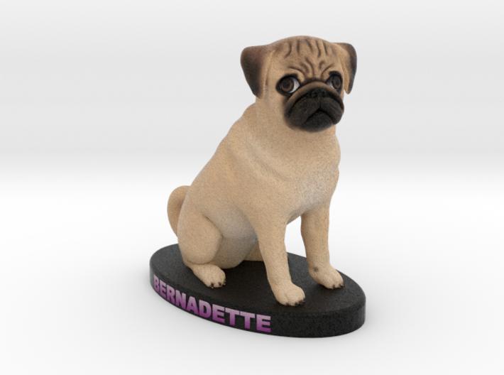 Custom Dog Figurine - Bernadette 3d printed