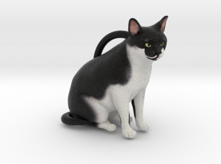 Custom Cat Ornament - Chocolate 3d printed