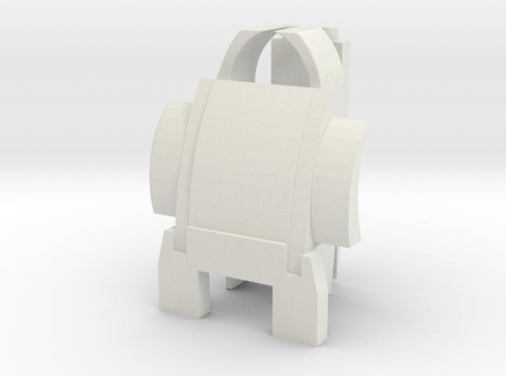 Customatron - Filletron - Sekhmet - Backpack Add o 3d printed
