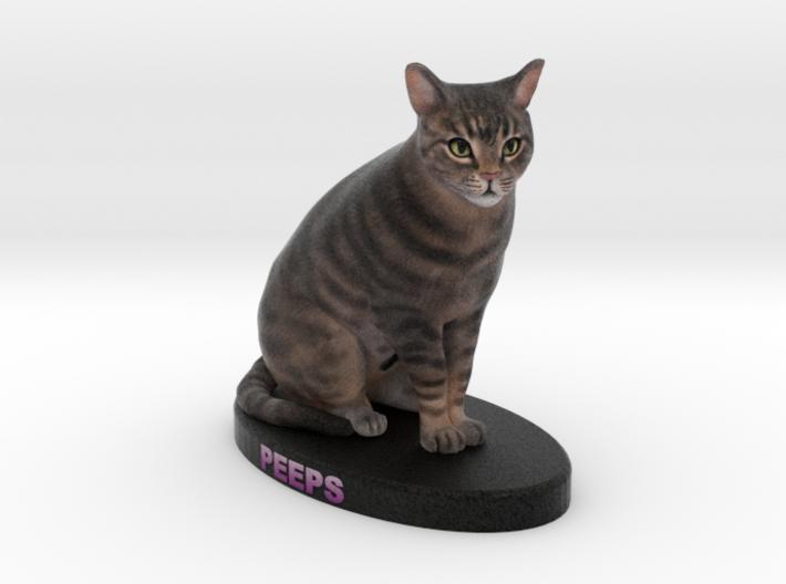 Custom Cat Figurine - Peeps 3d printed