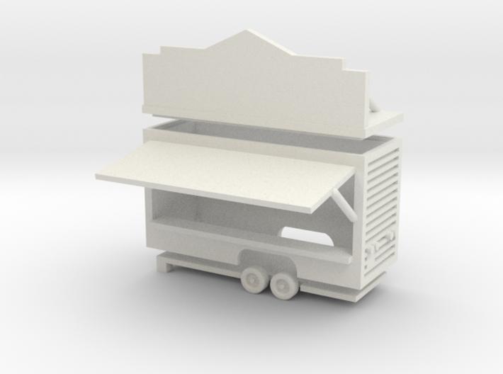 Gametrailer - 1:220 (Z scale) 3d printed