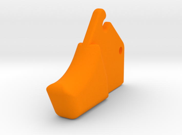 XQ-Bow Trigger 3d printed