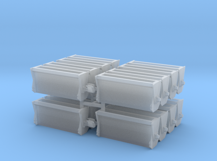 #1 Ballast Gate Miner Type Long [4 Cars] 3d printed