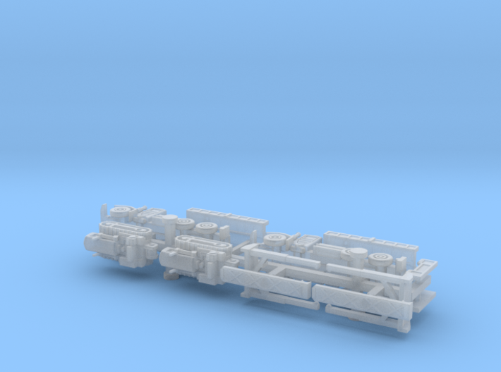 Faun 912/5050 Dumper with Dozer KHD 60 1/285 6mm 3d printed