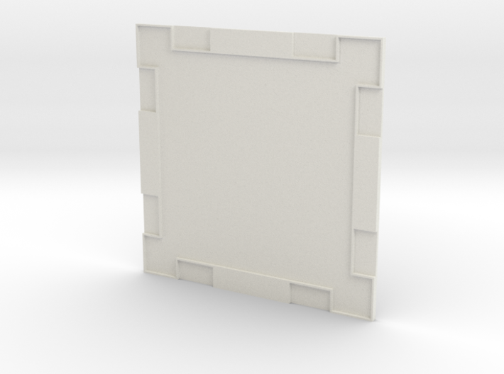 Wall 001a 3d printed