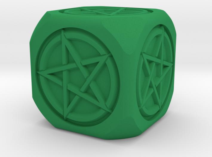 Mage's dice 3d printed