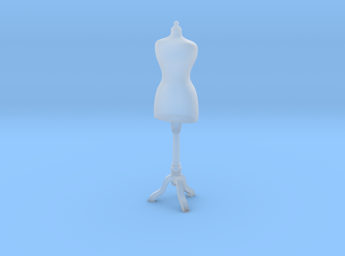 1:48 Dress Form 3d printed
