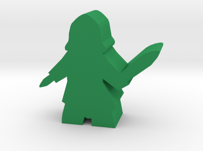Roma Assassin Meeple 3d printed