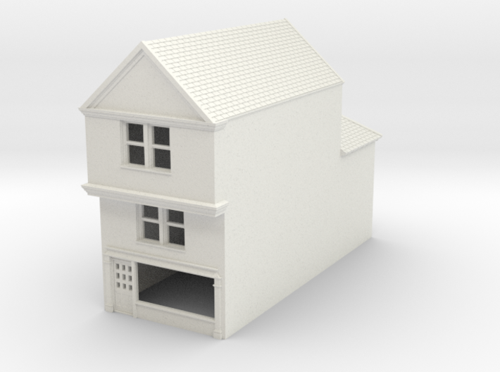 TFS-77 N Scale Topsham Fore Street building 1:148 3d printed