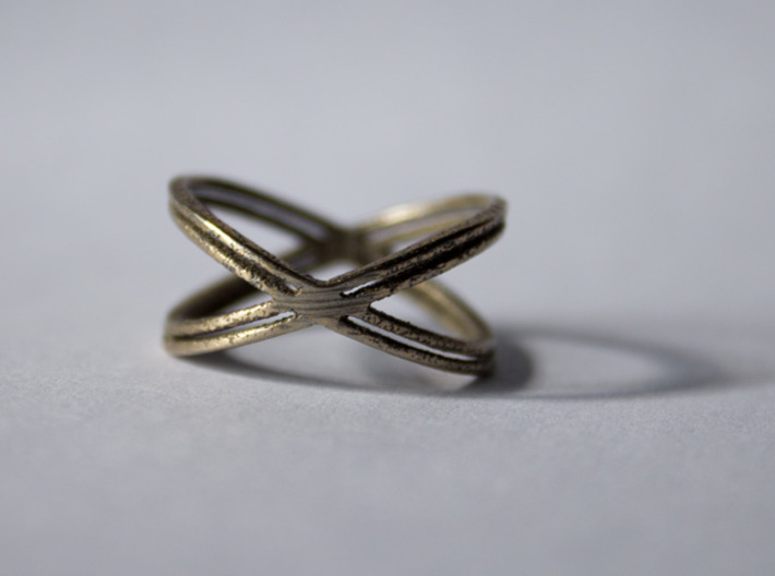 The X Ring 3d printed