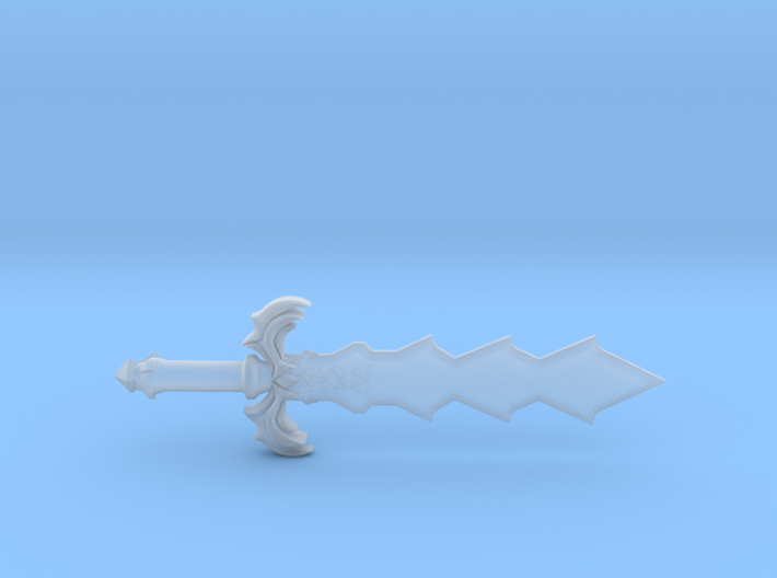 Demon King Sword 3d printed