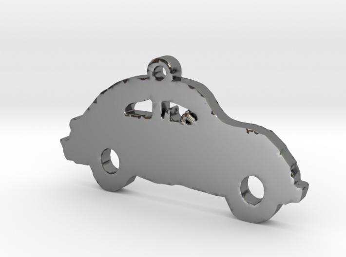 Slugbug Car Necklace Pendant 3d printed